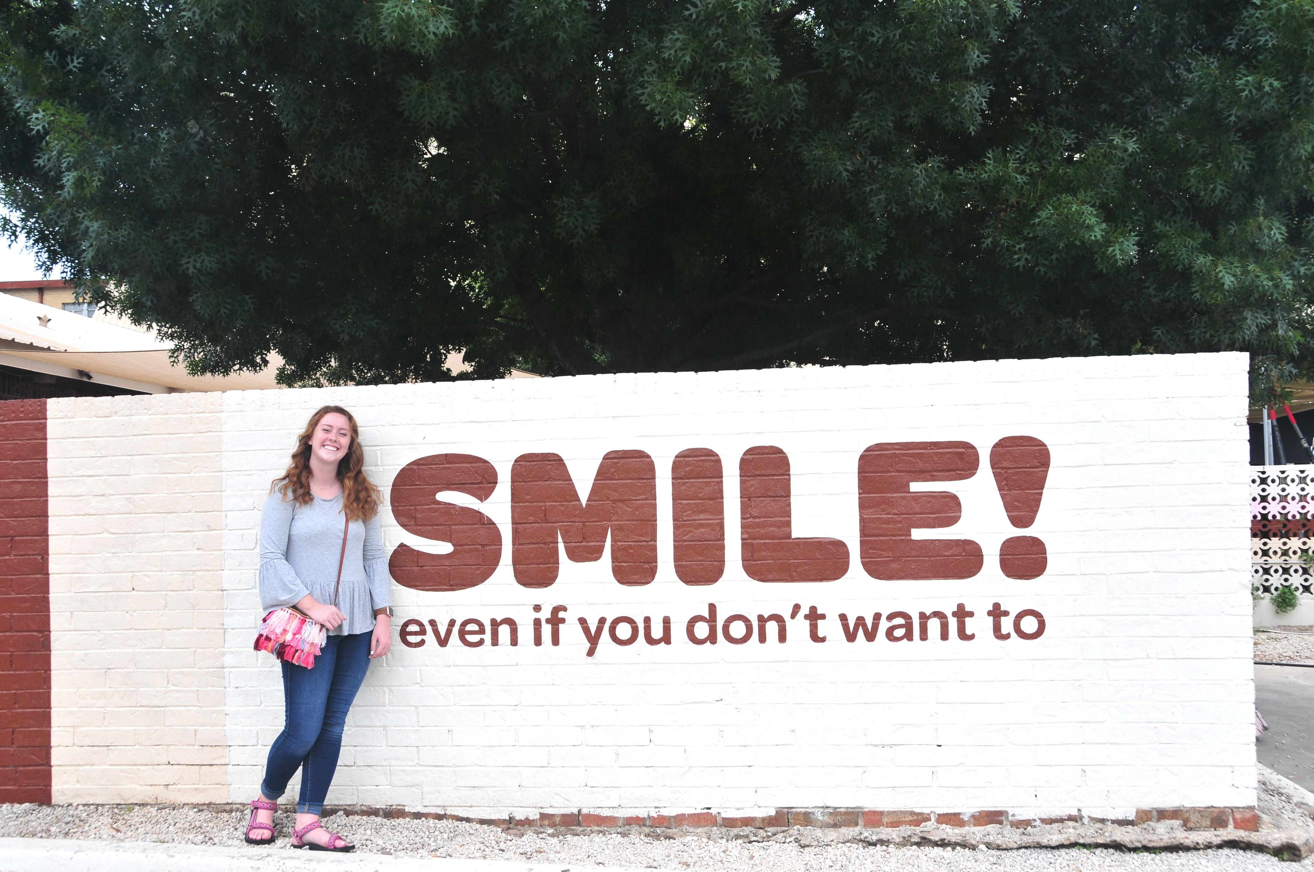 smile wall